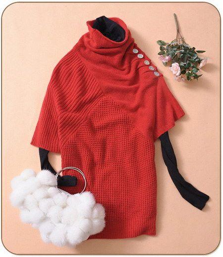 2009年秋冬季毛衣搭配守则