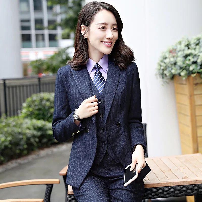 东莞物业办公系列正装女西服