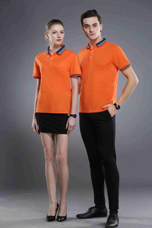 东莞橙色T恤