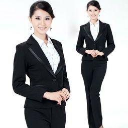 女士职业装的穿着有一些简单要求