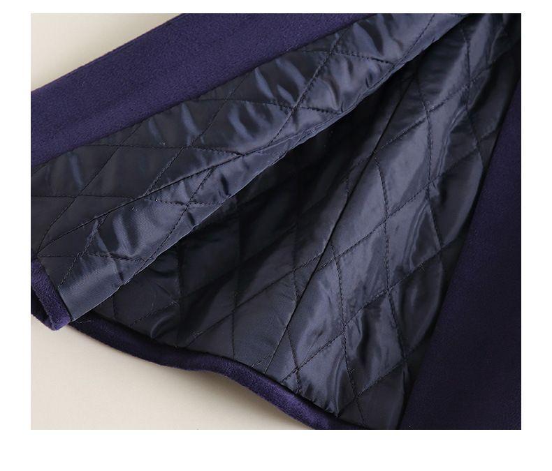 职业装定制定做批发订制订做男款西装版毛呢大衣加绒加厚秋冬