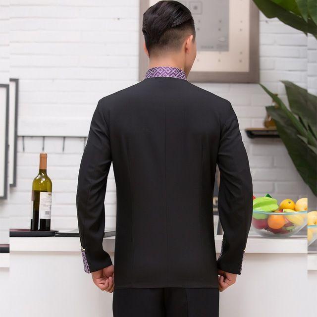 酒店工作服秋冬装女 中餐厅服务员工作服长袖 火锅店服装餐饮制服