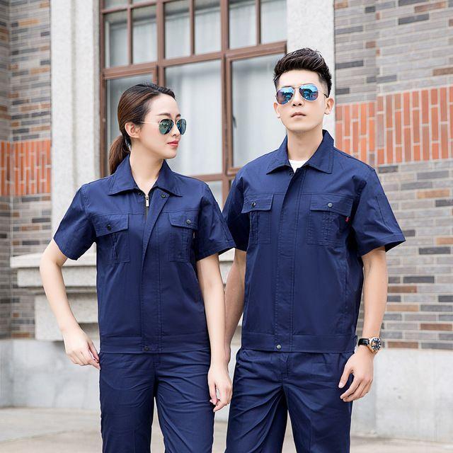 定制纯棉工作服与丝光棉工作服在原料上有哪些区别及优点?